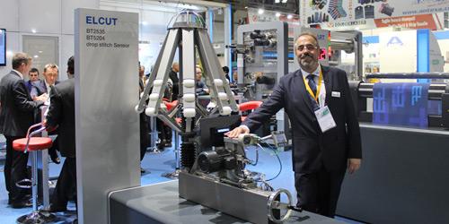 Erhart+Leimer yeni  tüp kesme makinası ELCUT BTA2532'i ITMA'da gözler önüne serdi