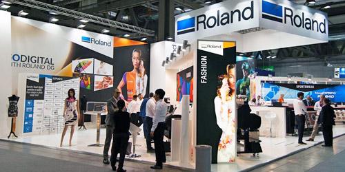 Roland DG Exhibited Texart TX-640 in ITMA 2015