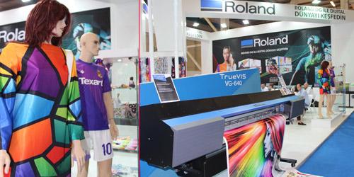 Roland DG dijital tekstil baskısında yeniliklerini sundu.