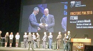 Itema Prestijli İtalyan Meccatronics Ödülü 2016'yı Kazandı