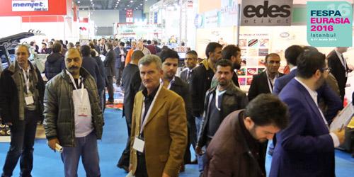 Dijital baskı, tekstil baskı ve reklamcılık endüstrileri FESPA Eurasia 2016'da buluşacak
