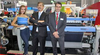 Itema emphasized weaving superiority at ITMA ASIA