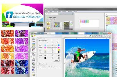 Roland DG Ücretsiz VersaWorks Dual RIP Yazılım Yükseltmesi Sundu