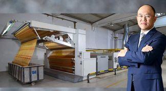 BRÜCKNER Power-Frame Stenter for Nan Yang Textile Group