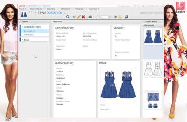 Lectra Fashion PLM 4.0 yazılımı moda firmalarına yeni olanaklar sunuyor.