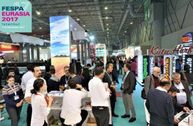 Ziyaretçiler FESPA Eurasia 2017 'de Fark Yaratmaya Cesaret Edecek