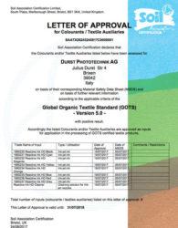 Durst, GOTS 5.0 sertifikalı ilk inkjet baskı sistemi üreticilerinden birisi oldu