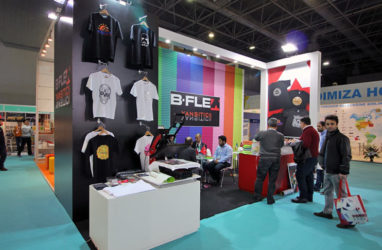 B-FLEX exhibited new solutions at FESPA Eurasia 2017