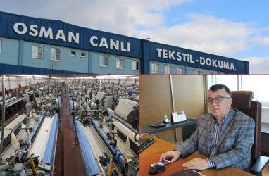Osman Canlı Tekstil Yüksek hıza ve verimliliğe Itema ile ulaştı