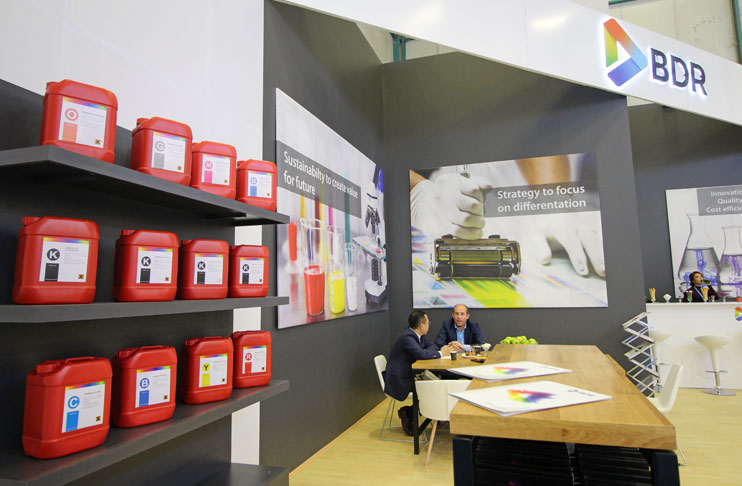 Bdr Moves To Become A World Brand In The Ink Market Textilegence