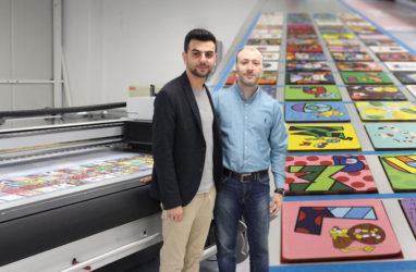 Boran Reklam Nyala LED ile Rotasını Avrupa'ya Çevirdi