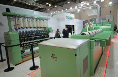Marzoli Spinning Systems Shown at ITM 2018
