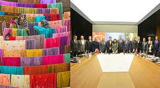 pakistan colorful fabrics girls itkib members serbest ticaret