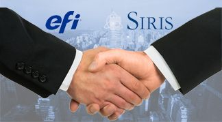 EFI Siris Capital Group handshake