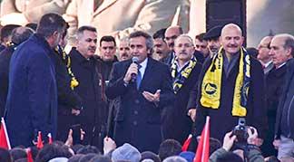 Yeşim Tekstil Ağrı Investment people speaking