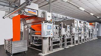BENNINGER Daha Yeşil Tekstil terbiye makine hattı