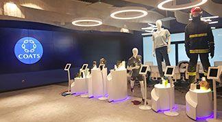 Coats İnovasyon Döngüsünün Bir Parçası Oldu mankenler showroom
