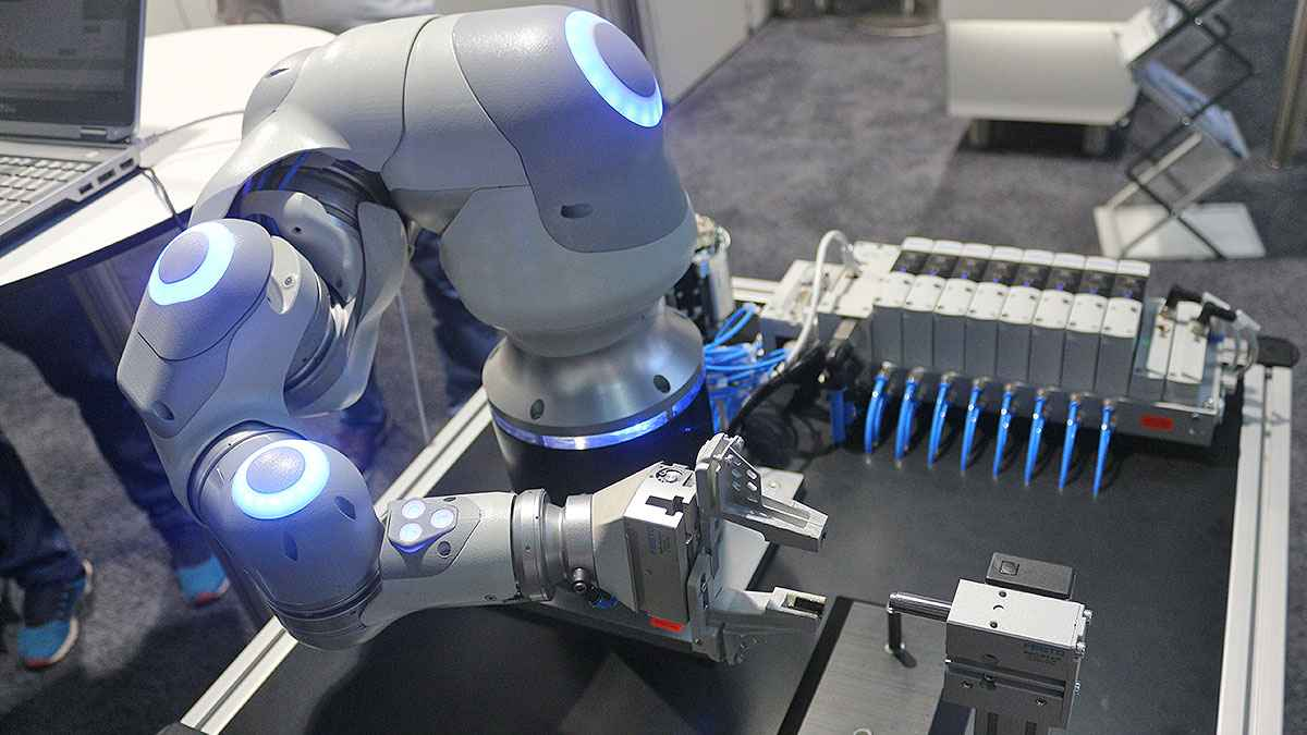 Festo Shows up at ITMA with Automation and Digitalization Solutions