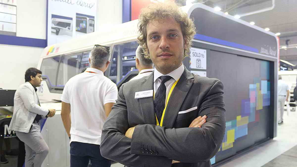 MS Printing, MiniLario 'yu Küresel Tekstil Pazarına Tanıttı - Marco Girola