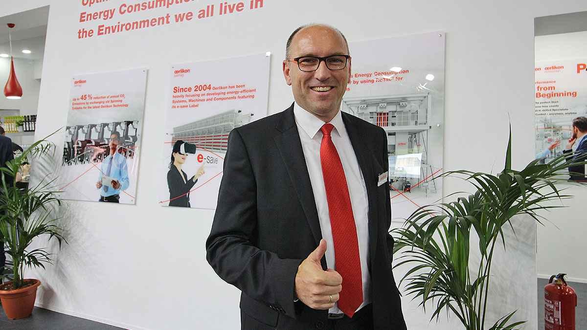 Oerlikon Yapay Elyaf Endüstrisine 'Yarını' Gösterdi - André Wissenberg