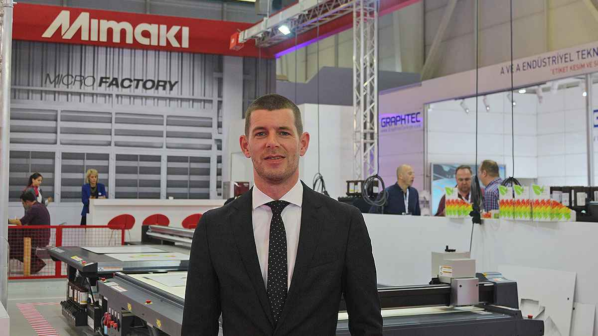 Great Interest in 'Digital' Possibilities in Packaging Printing with Mimaki
