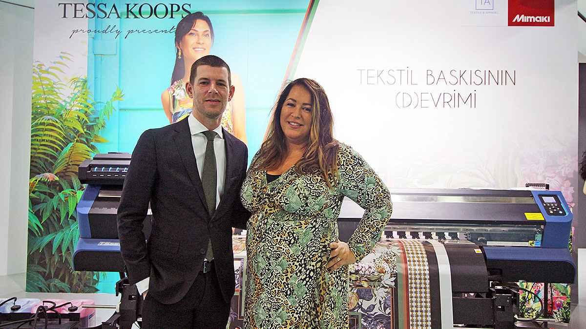 Mimaki Eurasia Shows its Strength at FESPA Eurasia 2019 - Arjen Evertse - Tessa Koops