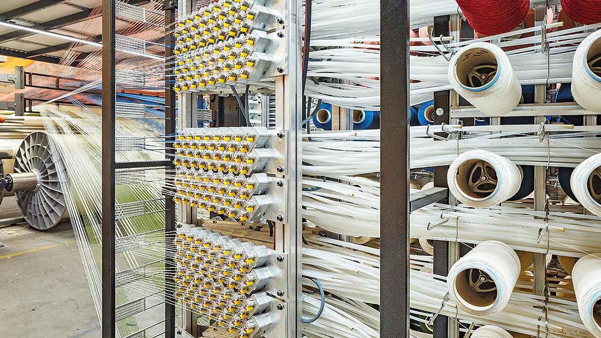 Vandewiele halı dokuma için entegre dijital üretim sistemi