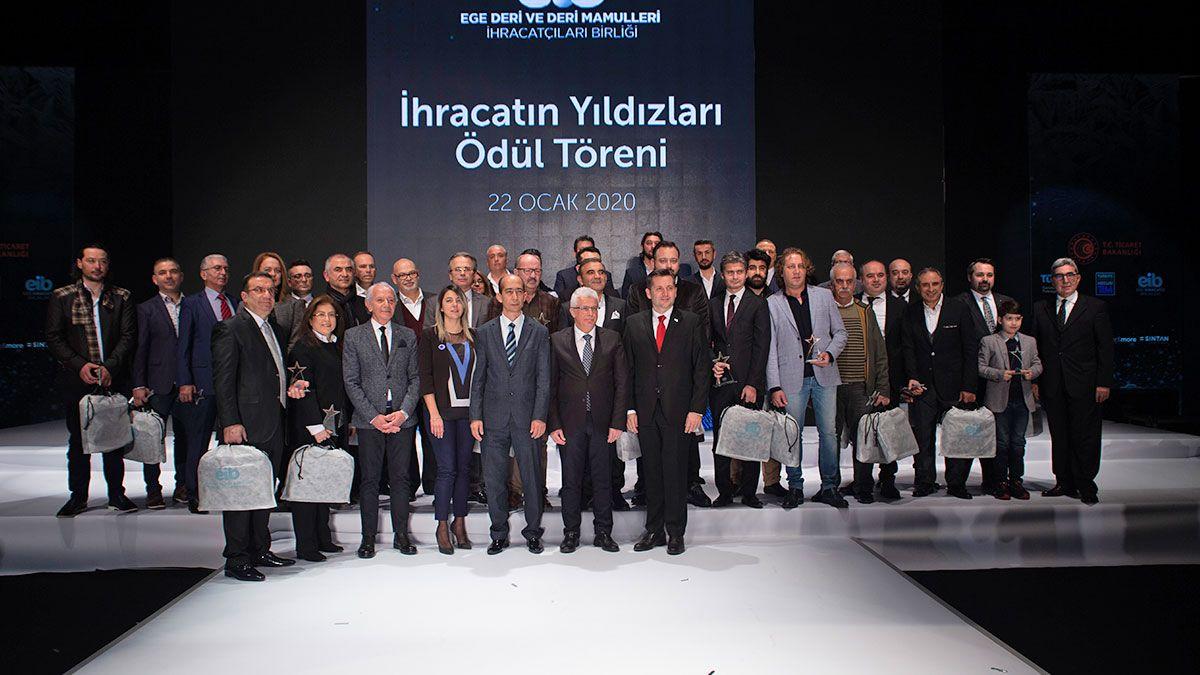 Deri sektörü tasarımı ve ihracatçıları birlikte onurlandırdı