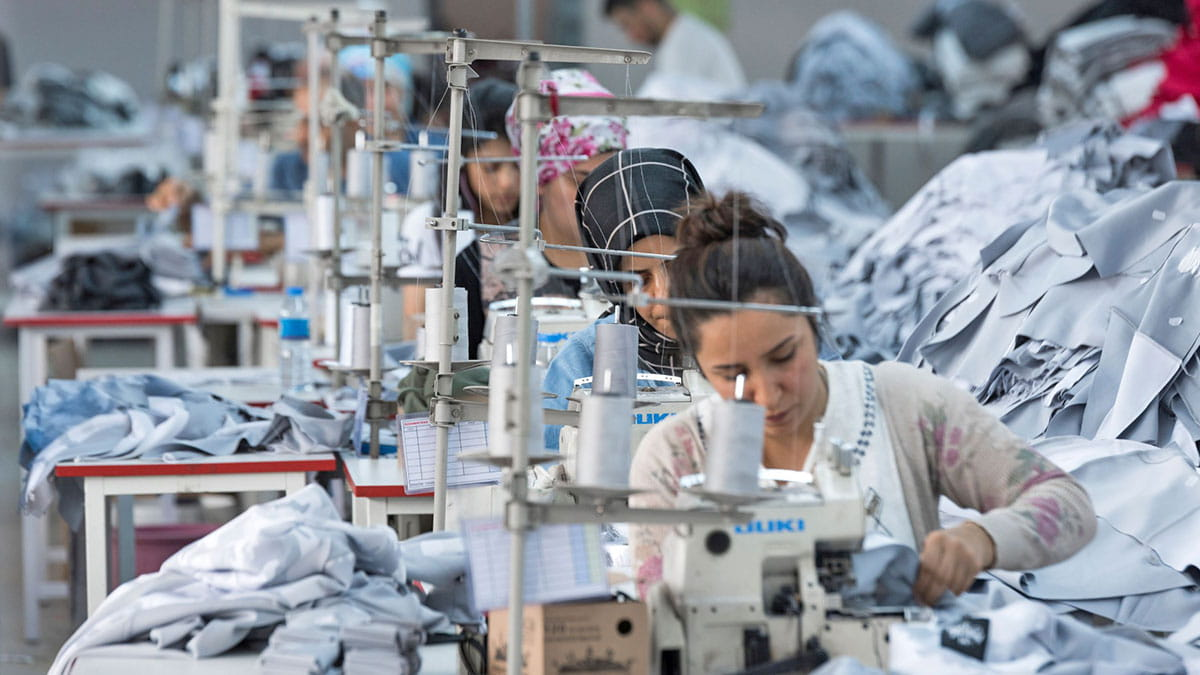 Textile orders move to Turkey due to coronavirus outbreak.