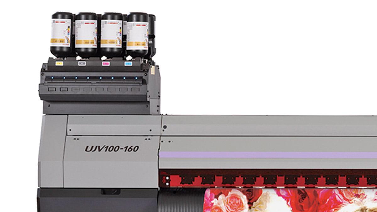Mimaki, UJV100-160 'ı Endüstriyel Reklam Üreticileri için Geliştirdi
