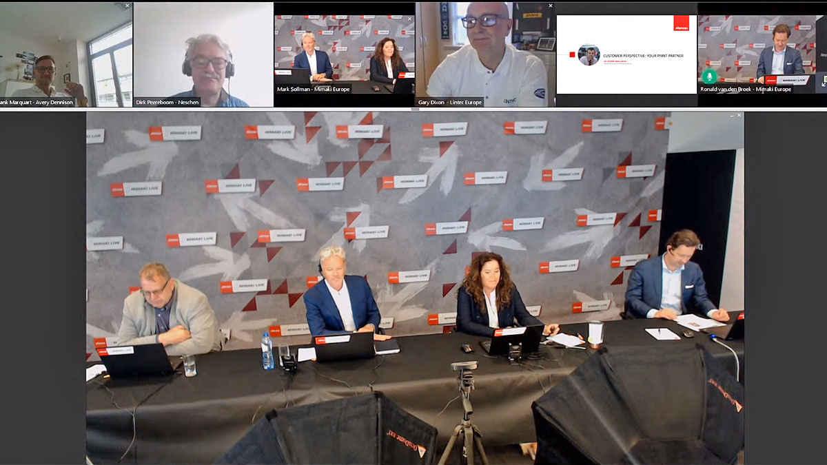 Dijital baskı haberleri: Mimaki web seminerde Covid-19 pandemisinin etkileri konuşuldu