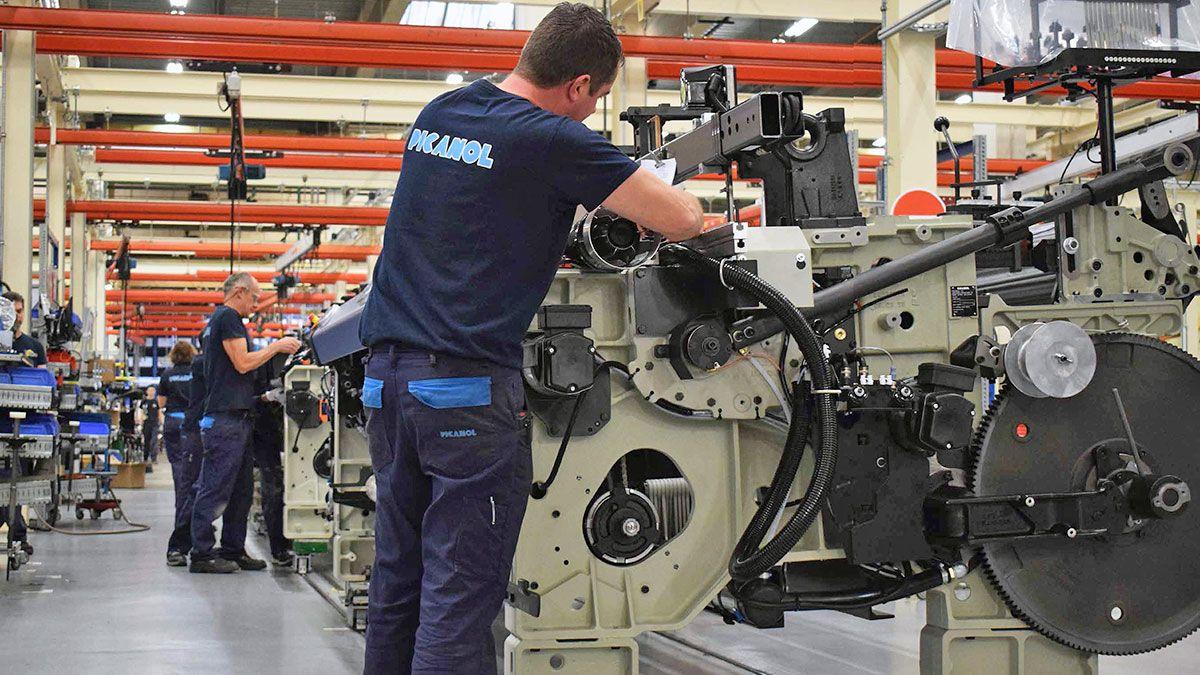 Picanol rapierli dokuma makine üretiminde yeni bir seviyeye ulaştı