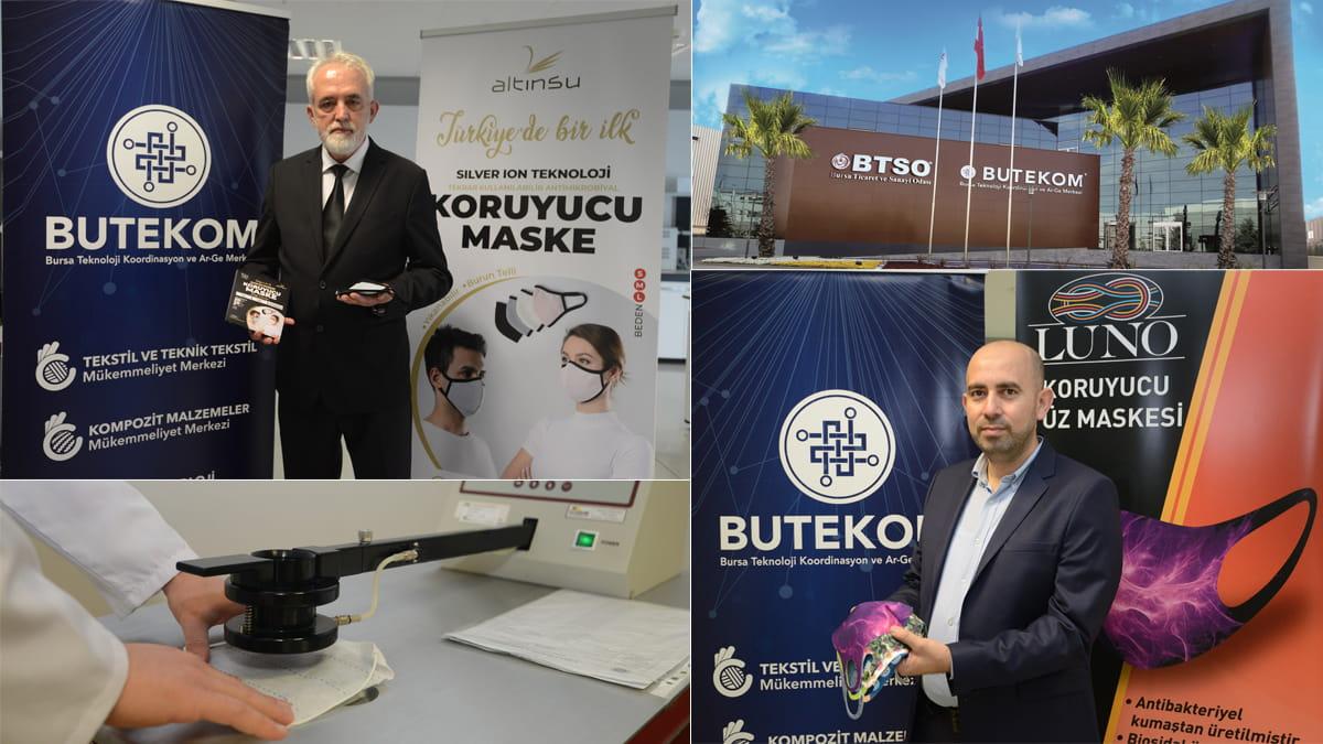 Maske üreticileri BUTEKOM ile avantaj yakalıyor