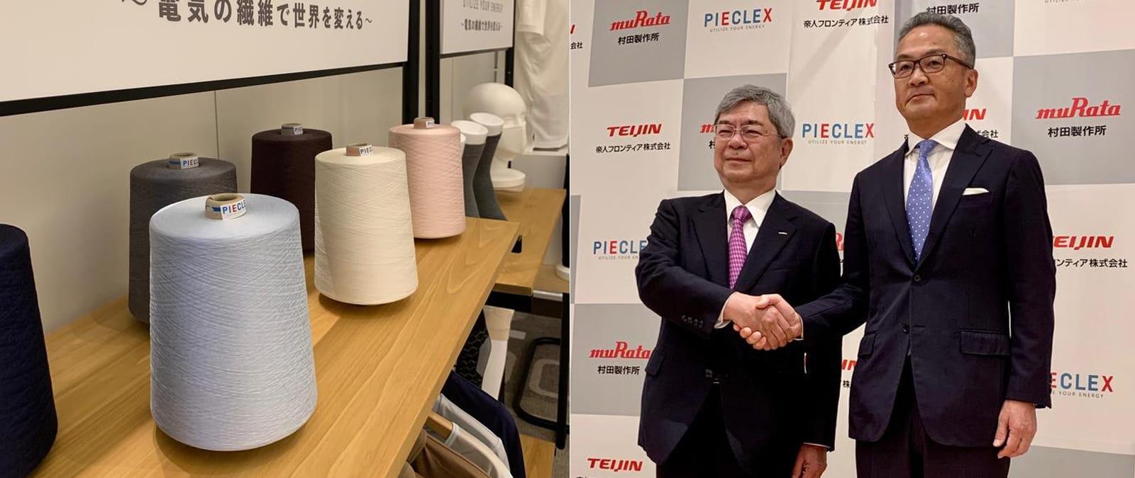 Dünyanın ilk piezoelektrikli kumaşı PIECLEX üretildi