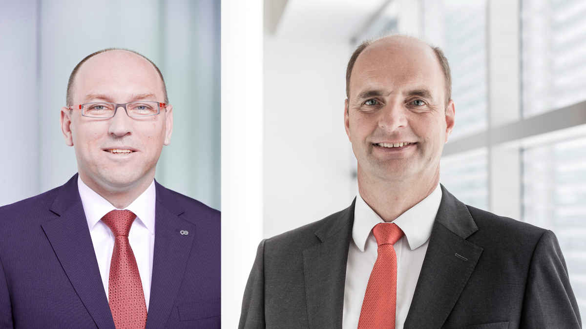 Oerlikon Group has positive expectations for the textile industry - André Wissenberg and Georg Stausberg