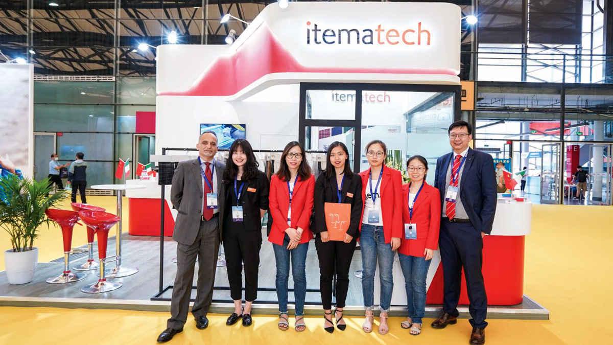 Itematech presented its technical weaving solutions at Cinte Techtextil