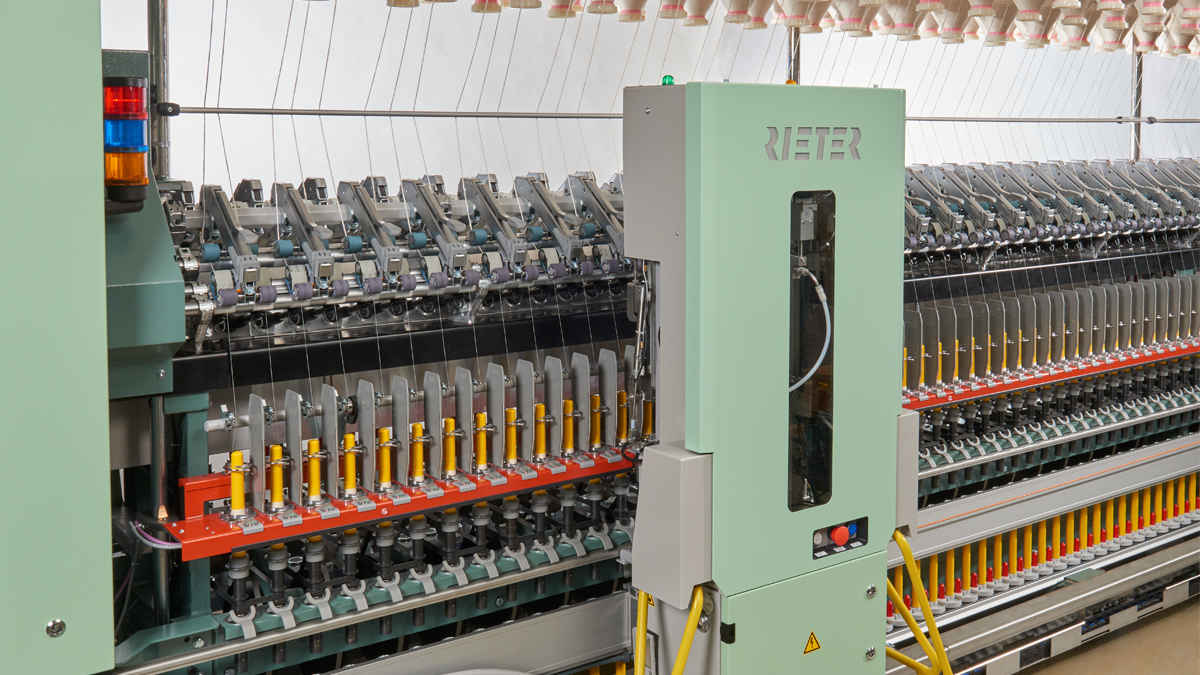 Automation and digital solutions for more economical spinning from Rieter