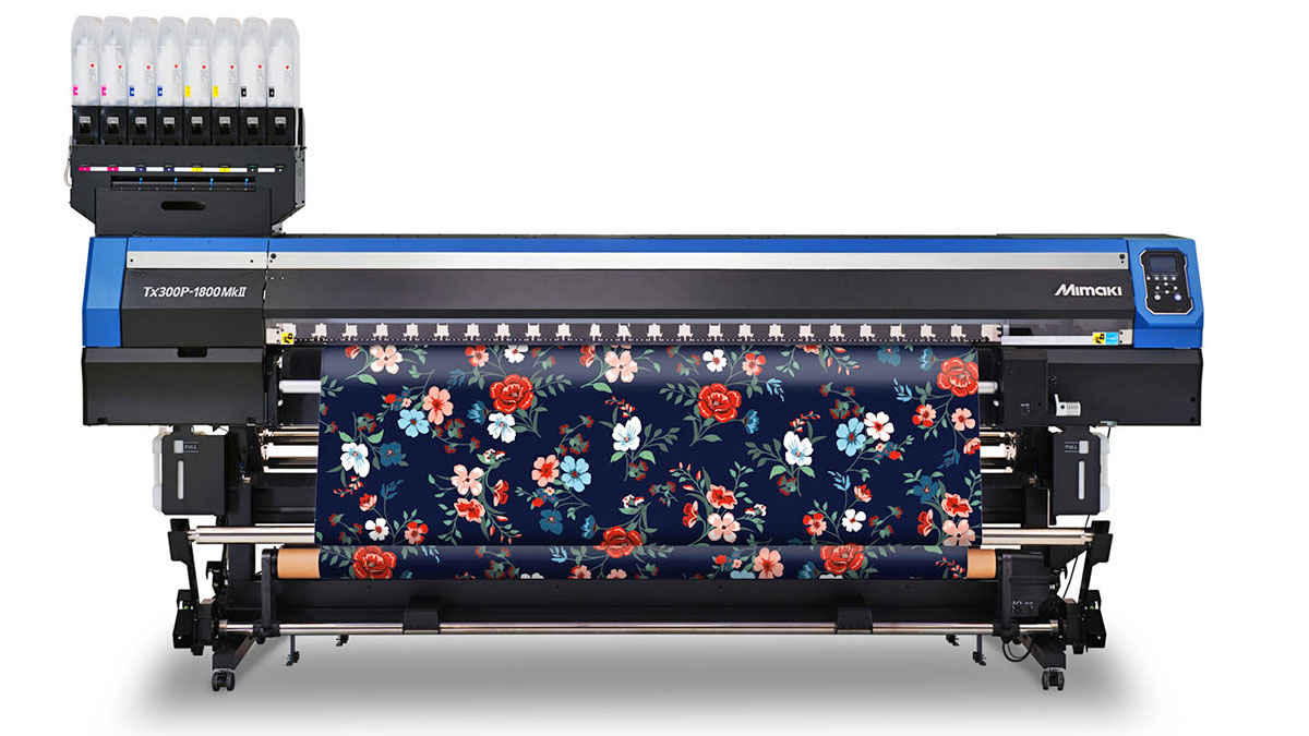 Mimaki Europe shows textile printing power at the virtual fair