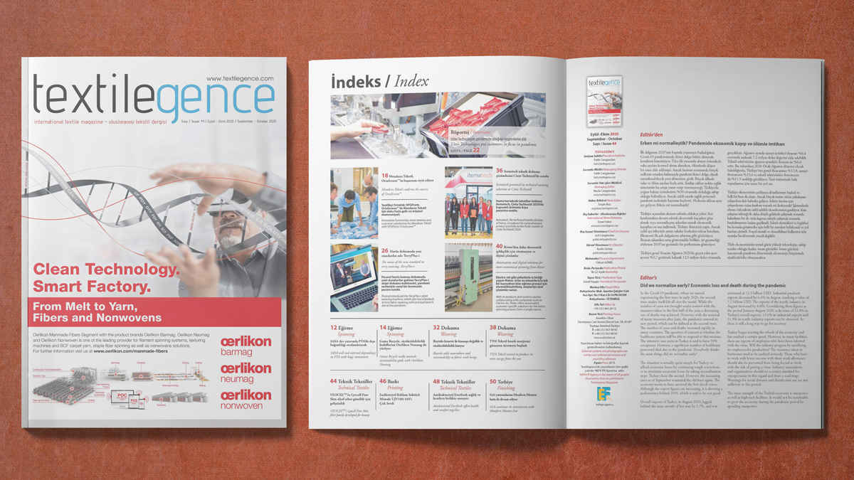Textilegence September - October 2020 Issue has been published