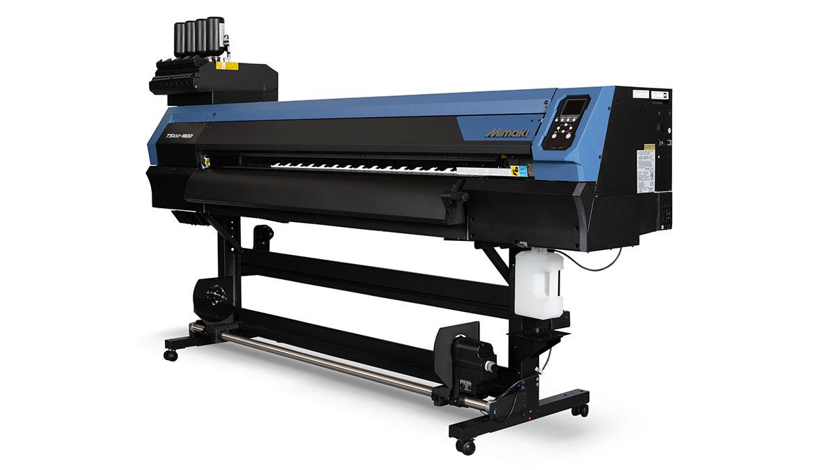 Mimaki 100 Serisi'nin yenisi TS100-1600 tekstil baskı makinesi