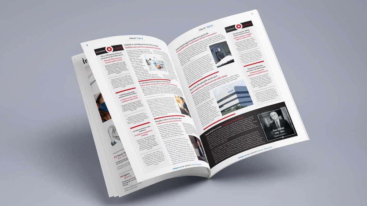 Textilegence Ocak - Şubat 2021 sayısı yayınlandı
