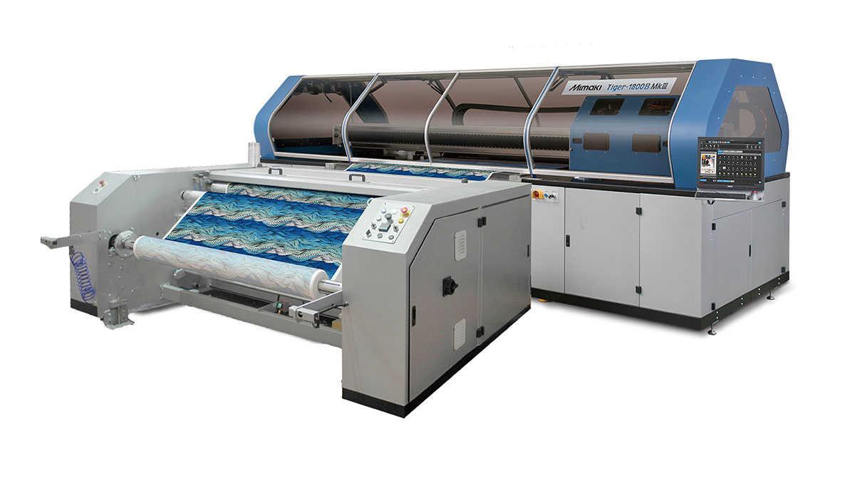 Advanced Mimaki Tiger-1800B MkIII facilitates industrial textile printing