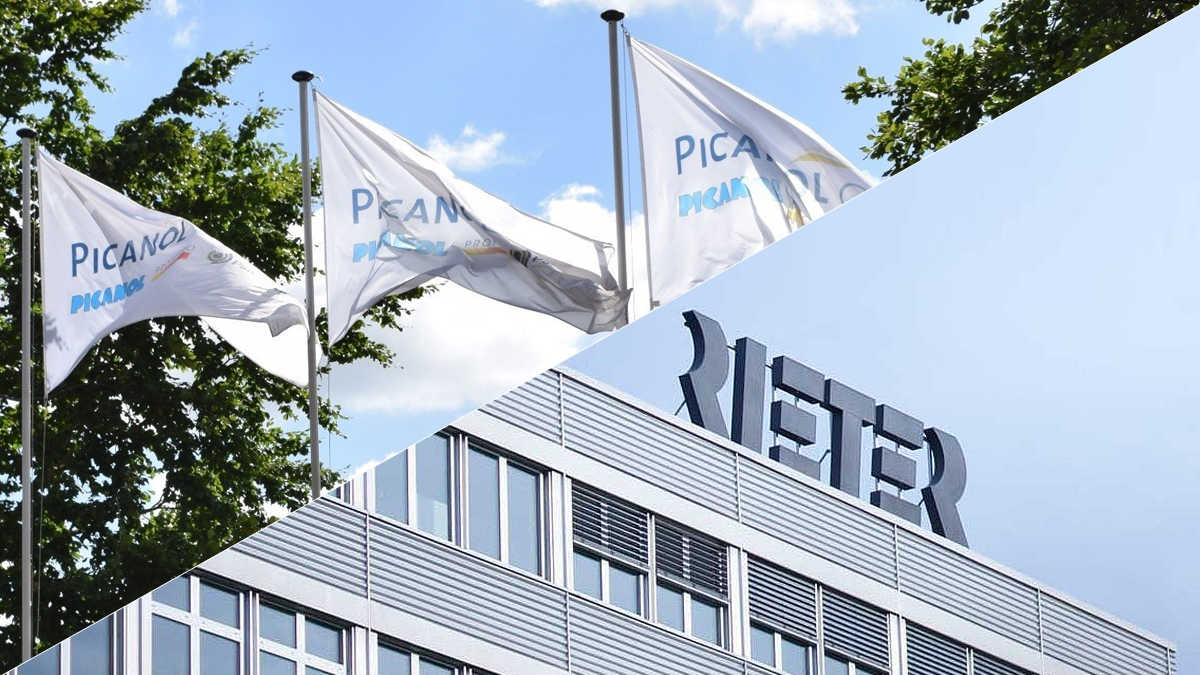 10 percent of Rieter Holding shares were sold to Picanol Group