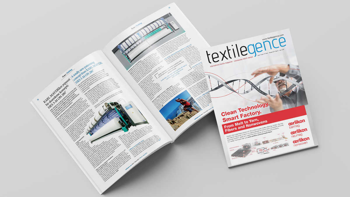 Textilegence March April 2021 issue has been published