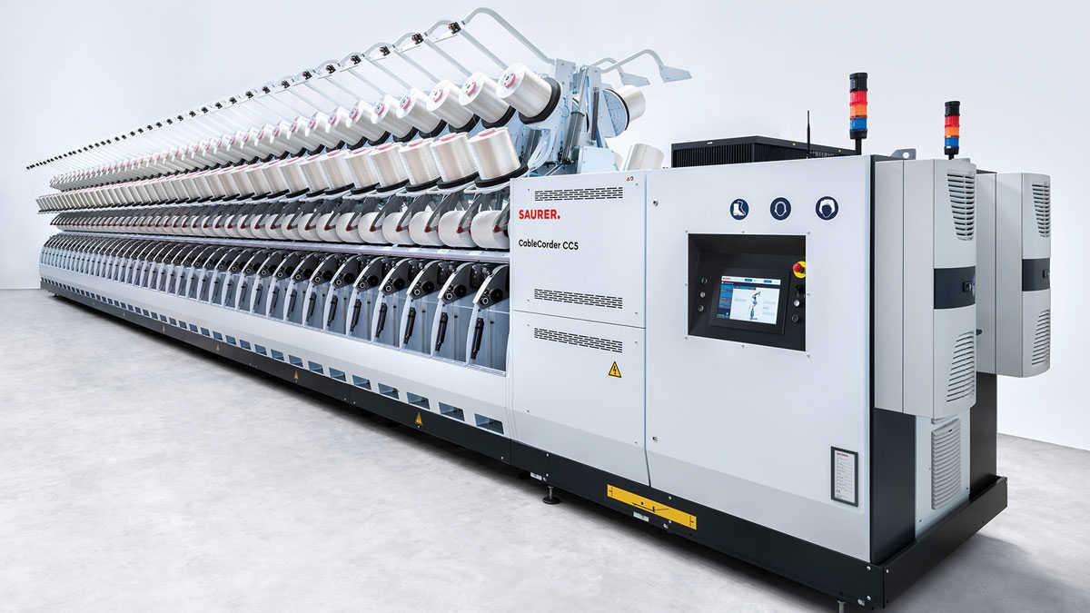 Saurer yeni otomasyon çözümlerini ITMA Asia'da sergileyecek