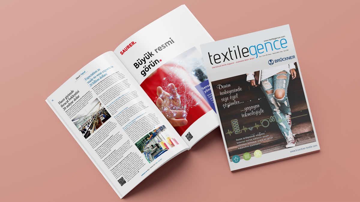 Textilegence Mayıs Haziran 2021 sayısı yayınlandı