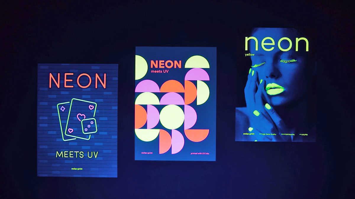 swissQprint neon renk gamını genişletiyor